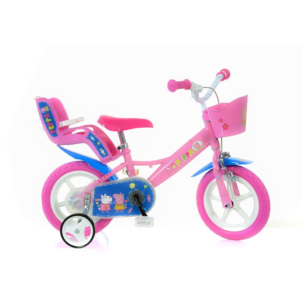 Kids Bike Dino Peppa 12''