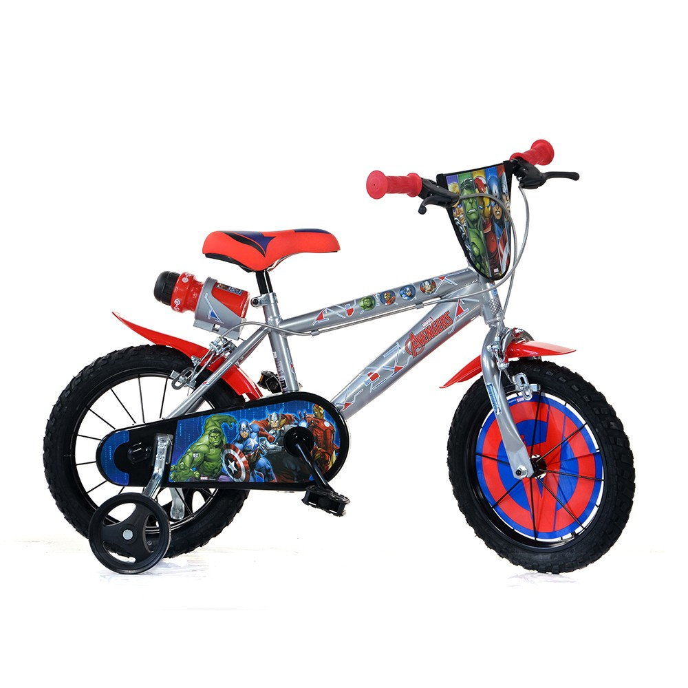 "Kids bike Dino Avengers 14"""