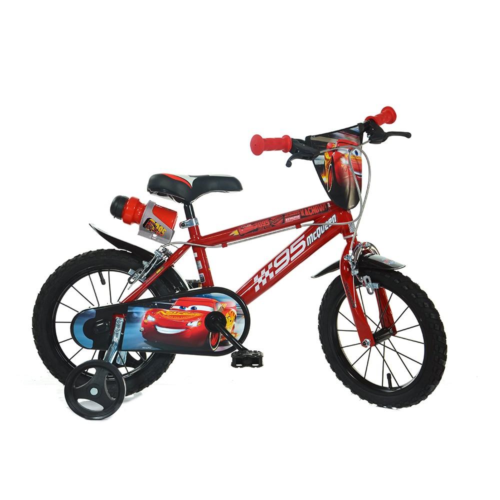 "Kids bike Dino Cars Movie 16"""