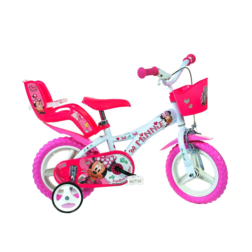 Kids Bike Dino Minnie 12''