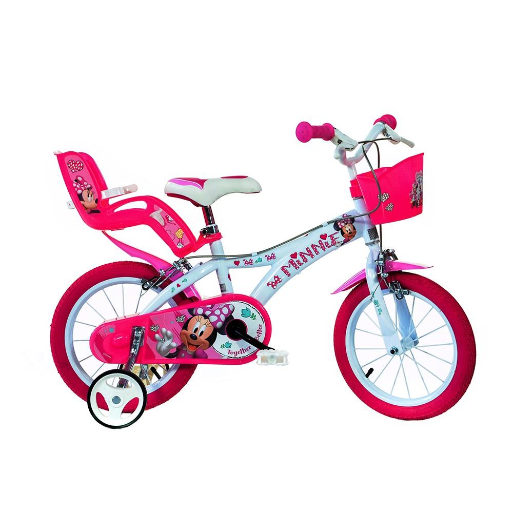"Kids bike Dino Minnie 14"""