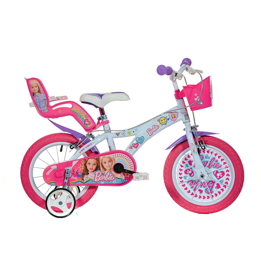 Kids Bike Dino Barbie 14''