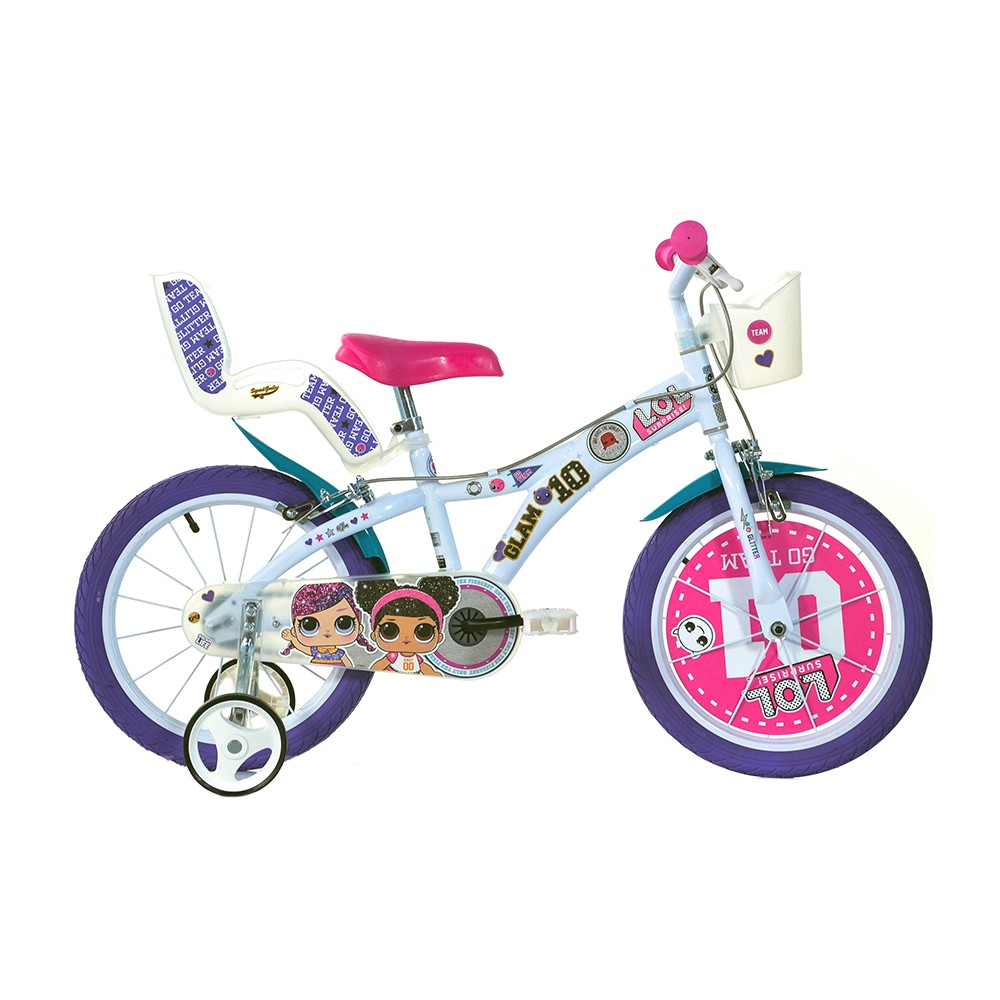 Kids Bike Dino LOL 14''