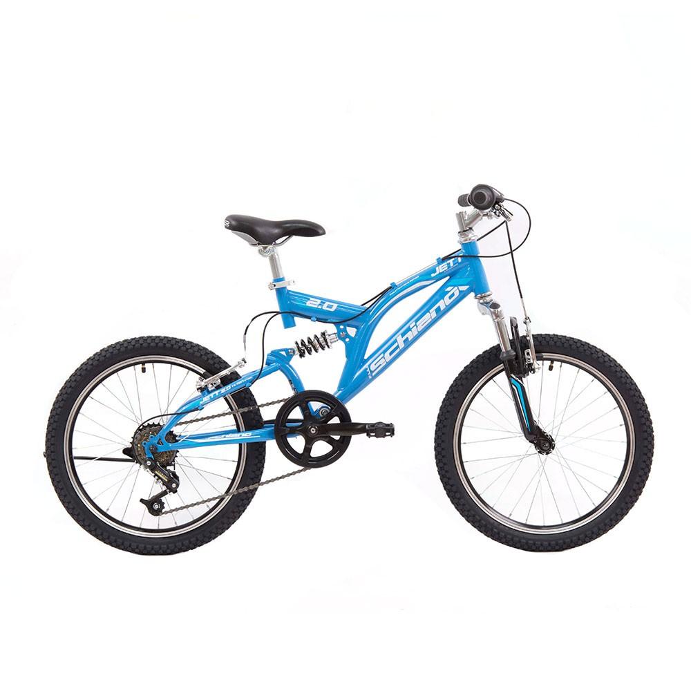 "Kids Bike MTB FULLY JETT BLUE 20"""