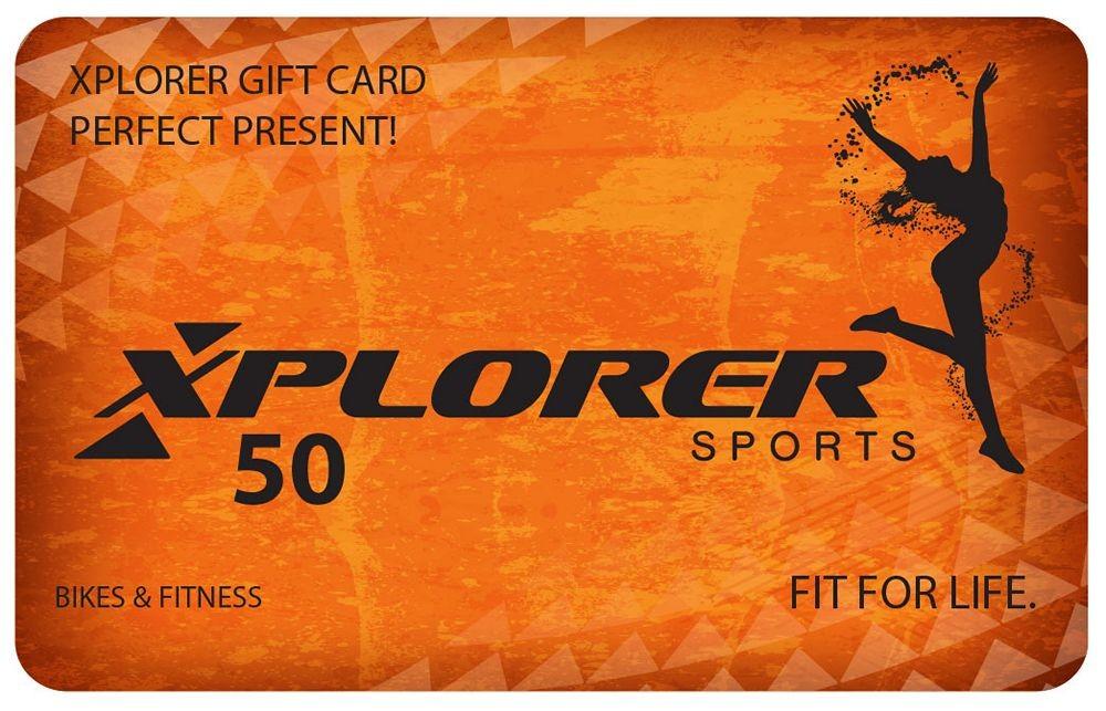 Xplorer Gift Card
