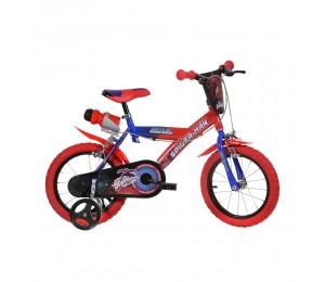 Kids Bike Dino Spiderman 14''