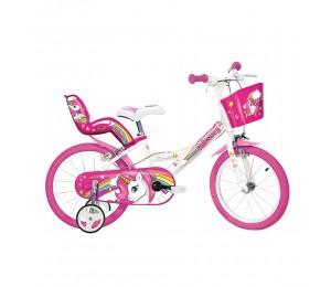 """Kids bike Dino Unicorn 16"""""""