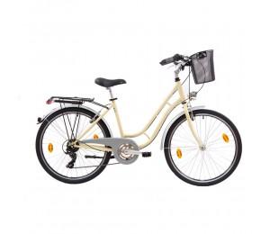 "City Bike MADEIRA IVORY 26"""