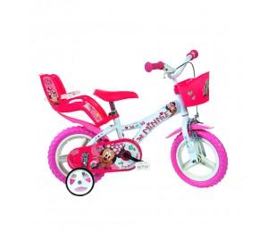 Kids Bike Dino Minnie 12''