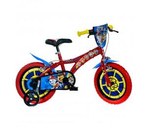Kids Bike Dino Paw Patrol 14''