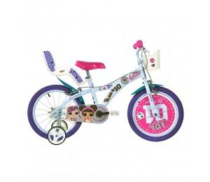"Kids bike Dino LOL 16"""