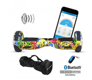 Xplorer Hoverboard City hip-hop 6""