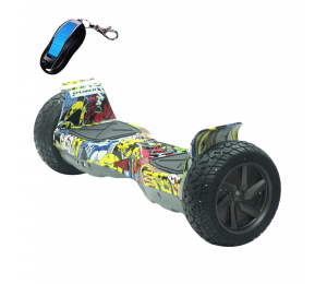 Hoverboard Xplorer Warrior Hip Hop 8""