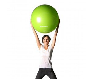 Pilates ball green 65cm + pump - Xplorer