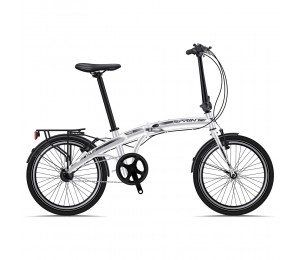 "XPLORER FOLDING BIKE NEXUS 20"" WHITE"