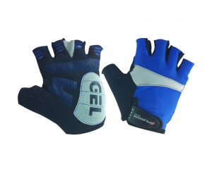 Cycling Gloves Blue Xplorer