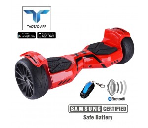 Hoverboard Xplorer Viper Red 9""