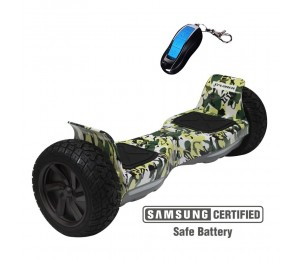 Hoverboard Xplorer Warrior camuflage 8""