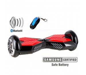 Xplorer Hoverboard Street red 6""